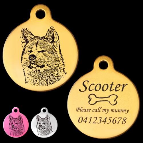 Custom dog tags | Etsy